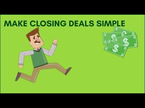 Make Closing Deals Simple