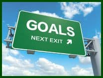 Overachieve goals in sales and golf