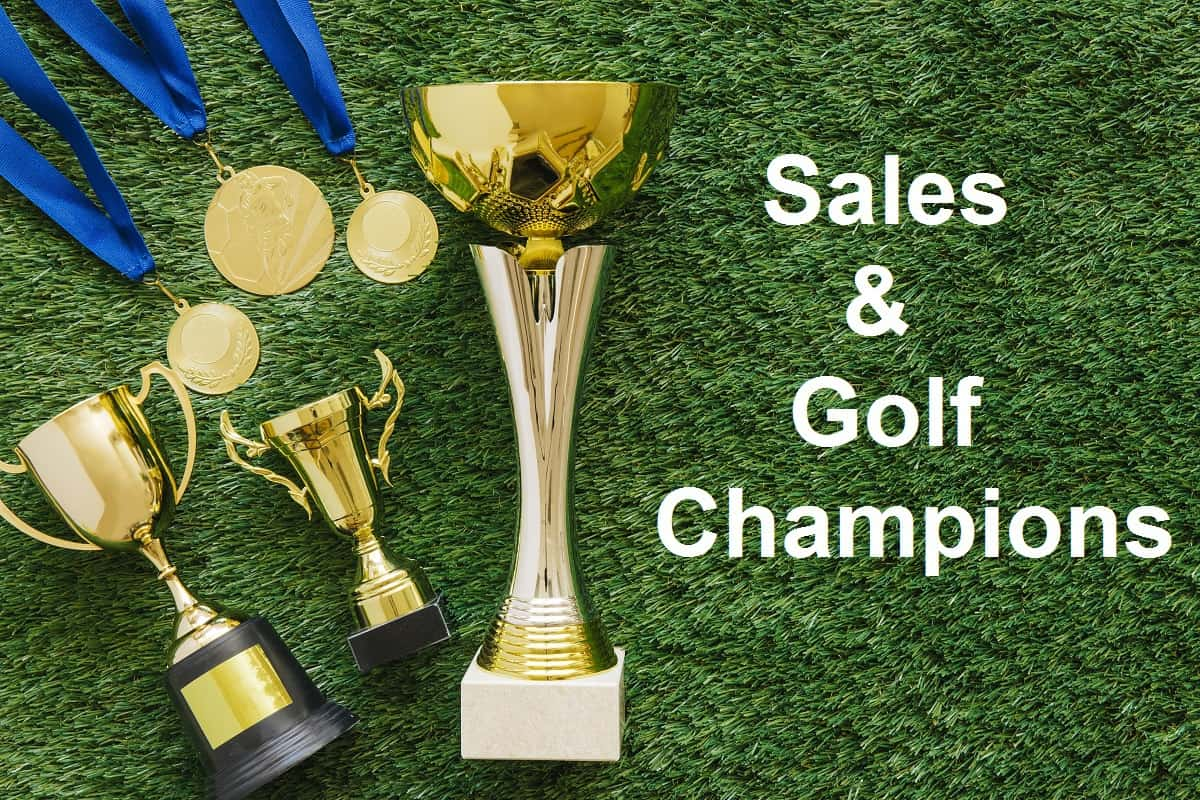 How sales and golf champions win