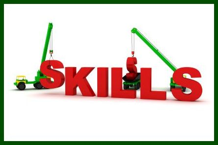"2 cranes building ""skills"" needed to prepare in sales and golf."