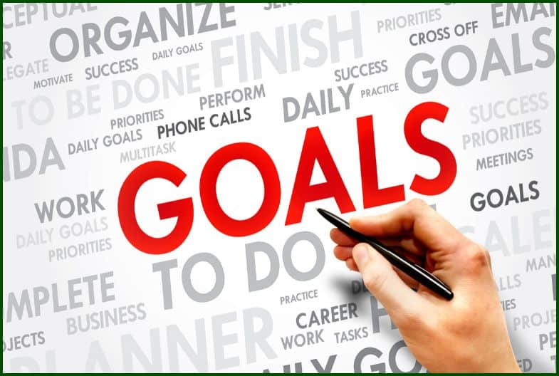 Collage showing Goals and To Do with multiple tasks listed